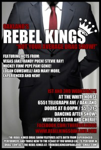 Rebel Kings @ White Horse Inn | Oakland | California | United States