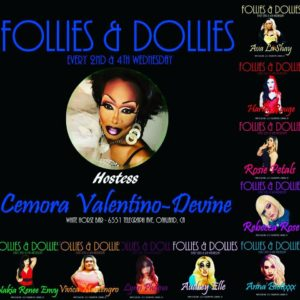 Cemoras Follies and Dollies Drag Show @ White Horse Inn | Oakland | California | United States