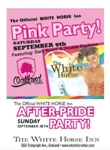 OAKLAND PRIDE - PINK PARTY!