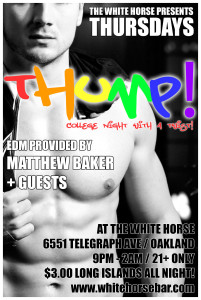 THUMP! @ The White Horse Inn | Oakland | California | United States
