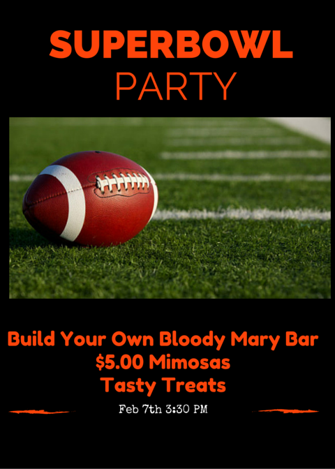Superbowl 50 Party!