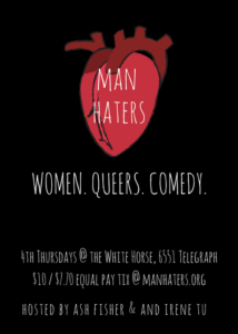 Copy of Man Haters Monthly Flyer