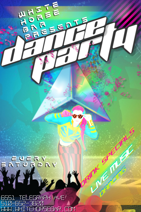 Copy of Dance Rave Party Club Bar DJ Event Glow Concert Rap Music - Made with PosterMyWall