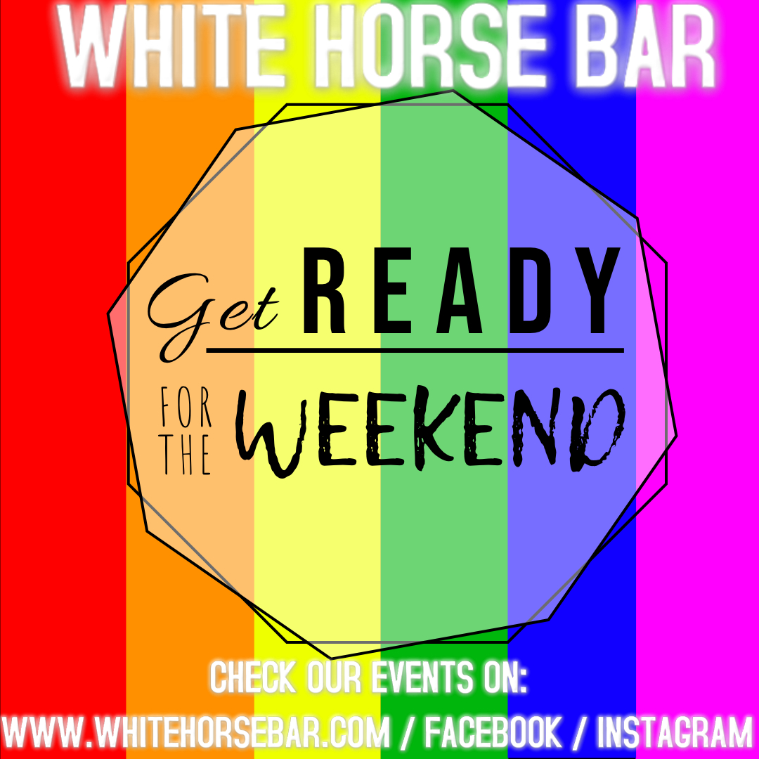 Copy of Get Ready For the weekend rainbow instagram - Made with PosterMyWall